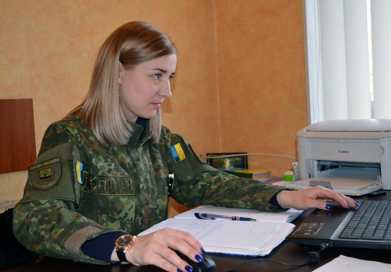 «Навіть не уявляю себе в іншій професії», - т.в.о. начальника кадрового забезпечення Покровського відділу поліції Олена Кочергіна, фото-4