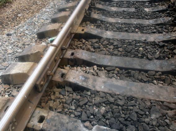 Расхитители деталей железнодорожного полотна задержаны полицейскими Покровска «на горячем», фото-1