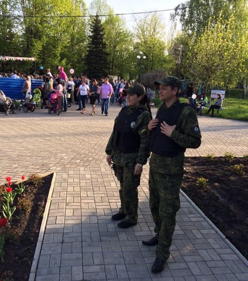 Правоохоронці Покровської оперативної зони забезпечують правопорядок під час масових заходів присвячених Дню Перемоги над нацизмом у Другій..., фото-7