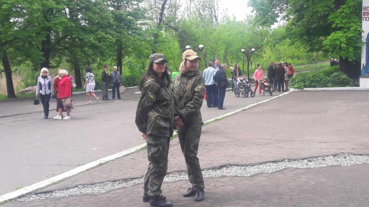 Правоохоронці Покровської оперативної зони забезпечують правопорядок під час масових заходів присвячених Дню Перемоги над нацизмом у Другій..., фото-9