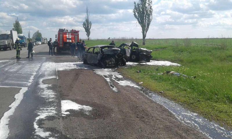 Полиция обнародовала подробности смертельного ДТП около Покровска (ФОТО), фото-1
