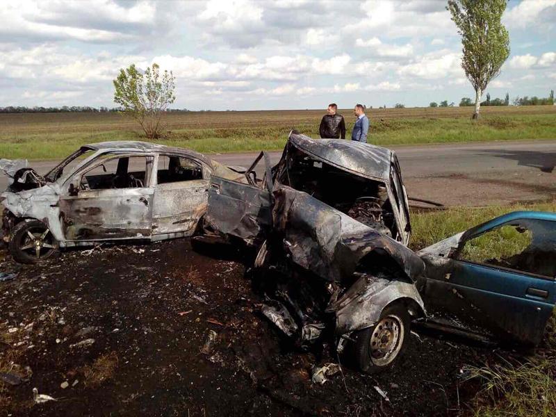 Полиция обнародовала подробности смертельного ДТП около Покровска (ФОТО), фото-3