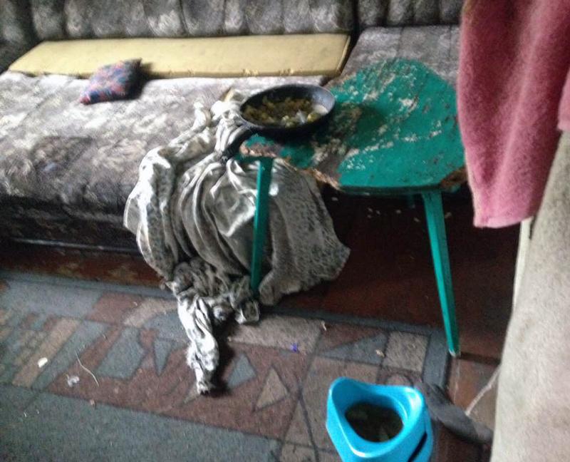Двух маленьких детей, оставленных матерью наедине со включенным электроприбором, обнаружили правоохранители в Покровске, фото-5