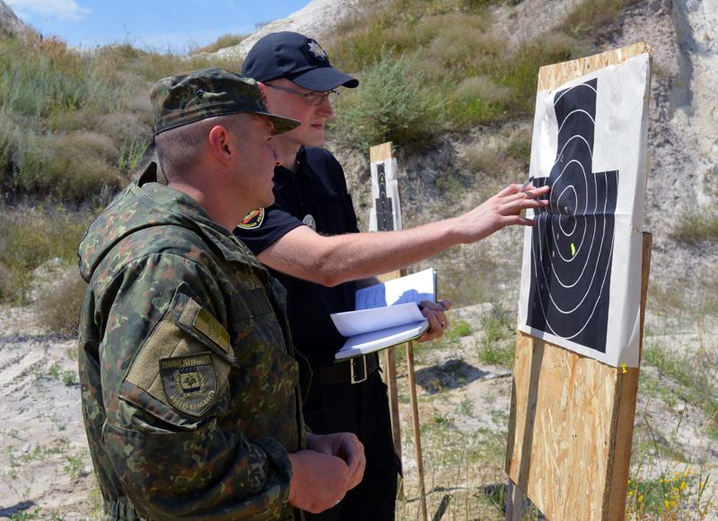 Сьогодні відбулась перевірка боєготовності особового складу Покровського відділу поліції, фото-9