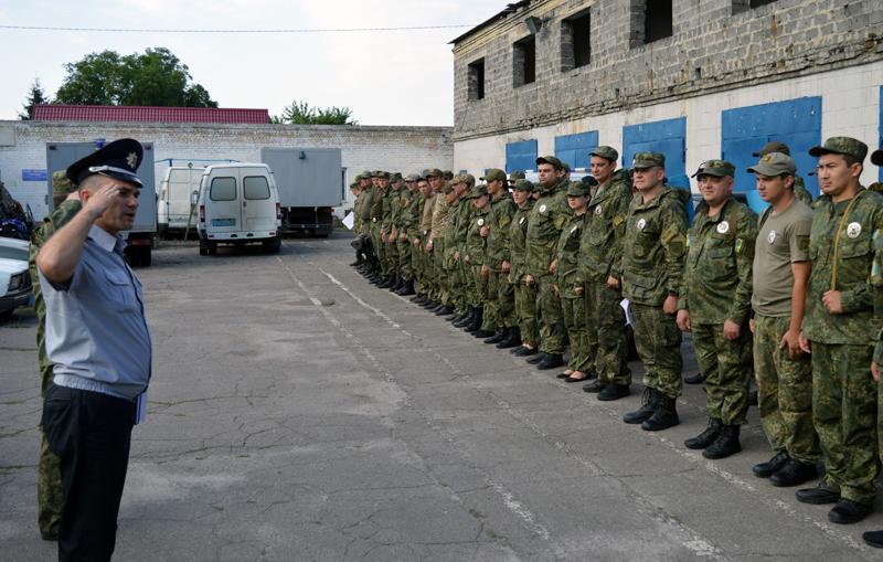 Сьогодні відбулась перевірка боєготовності особового складу Покровського відділу поліції, фото-1