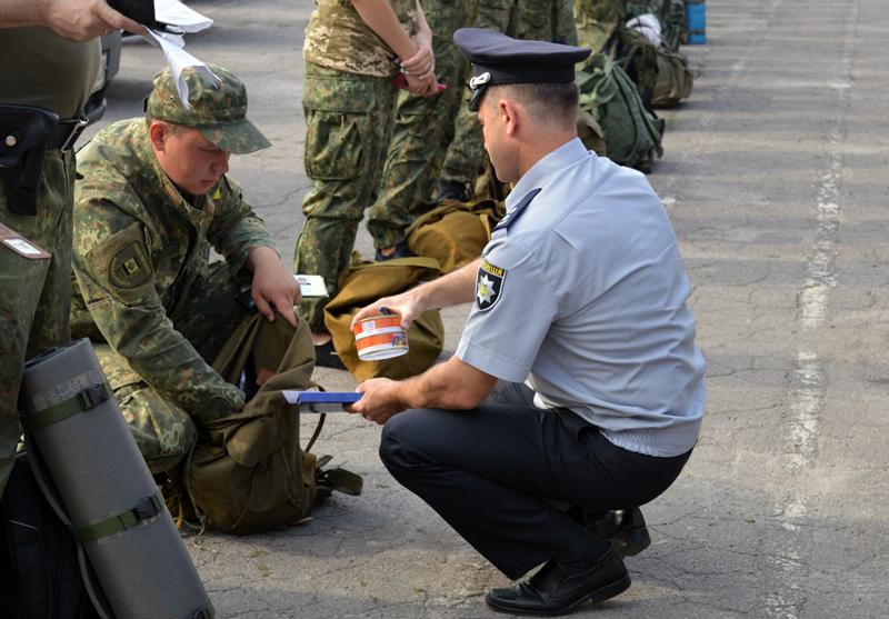 Сьогодні відбулась перевірка боєготовності особового складу Покровського відділу поліції, фото-4