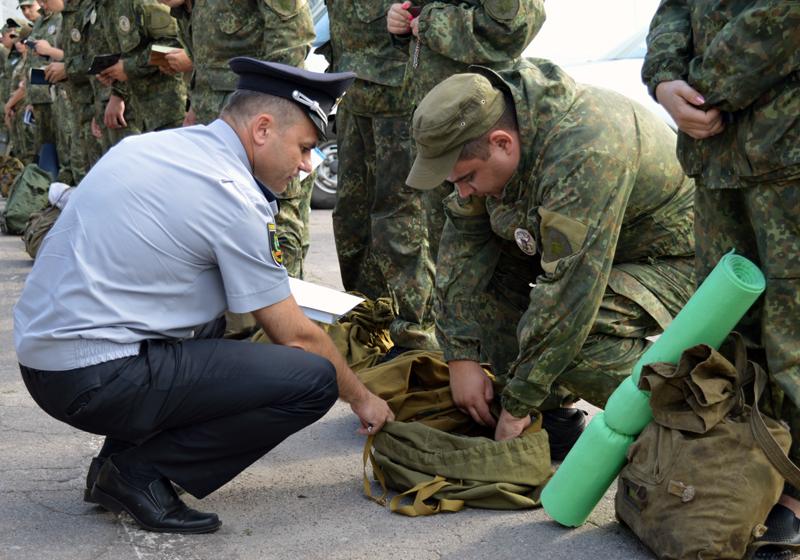 Сьогодні відбулась перевірка боєготовності особового складу Покровського відділу поліції, фото-3