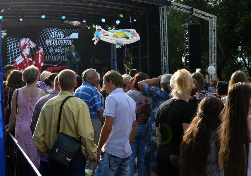Мешканці та гості Покровська і Авдіївки відсвяткували День металурга і гірника у повній безпеці, фото-12