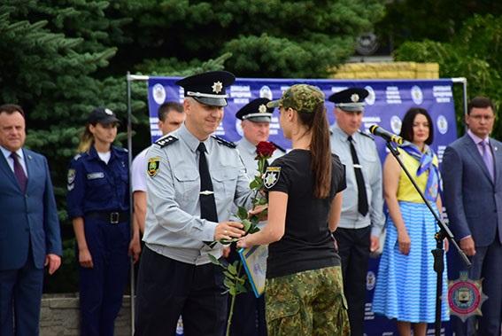 У Маріуполі 101 поліцейський присягнув на вірність українському народові, фото-13