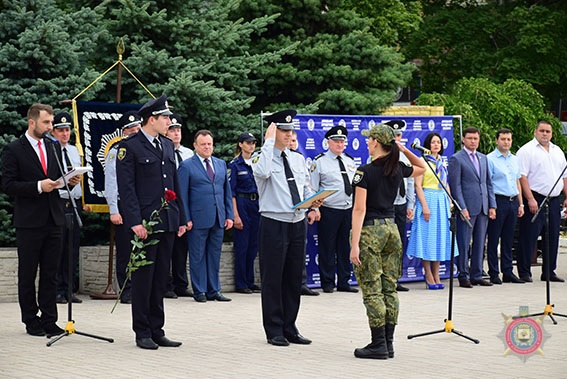 У Маріуполі 101 поліцейський присягнув на вірність українському народові, фото-15