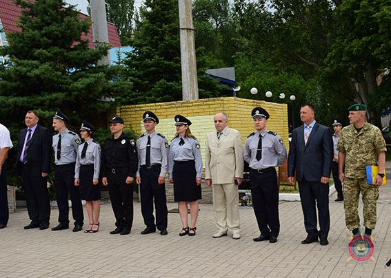 У Маріуполі 101 поліцейський присягнув на вірність українському народові, фото-17