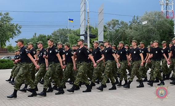 У Маріуполі 101 поліцейський присягнув на вірність українському народові, фото-1