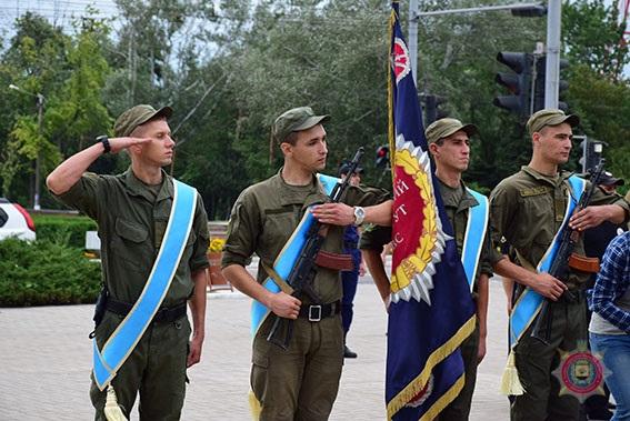 У Маріуполі 101 поліцейський присягнув на вірність українському народові, фото-2