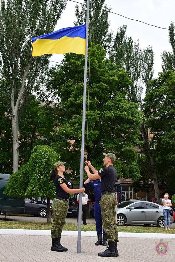 У Маріуполі 101 поліцейський присягнув на вірність українському народові, фото-3