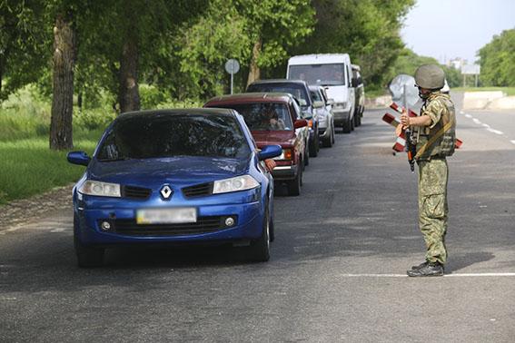 185 правонарушений за две недели прекратила полиция на блокпостах Донетчины, фото-4