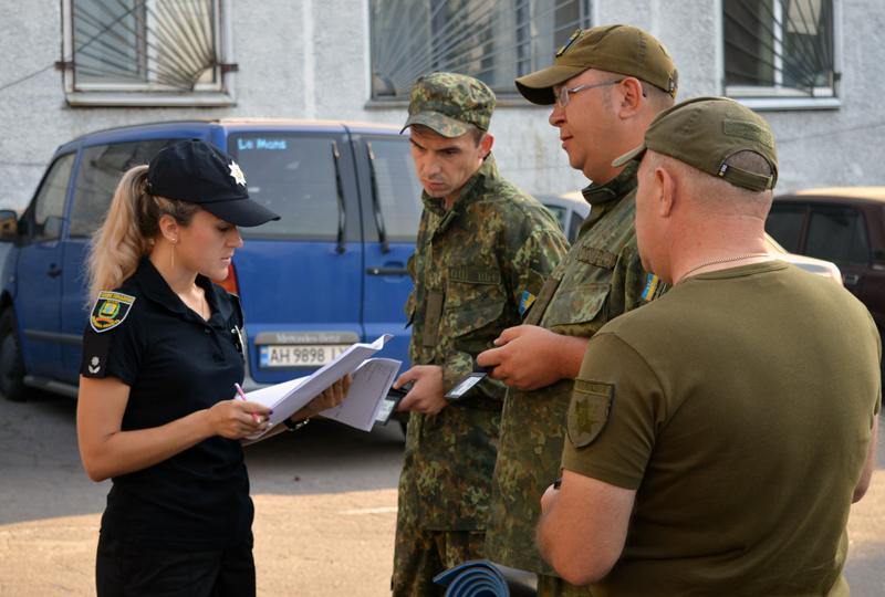 Сегодня день занятий Покровского отдела полиции начался с «Тревоги», фото-3