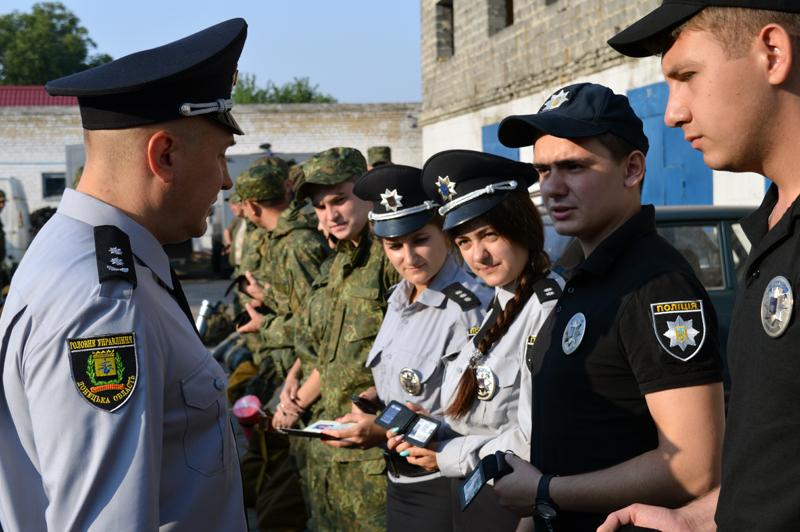 Сегодня день занятий Покровского отдела полиции начался с «Тревоги», фото-2
