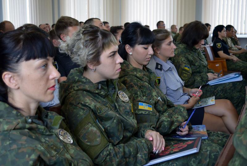 Сегодня день занятий Покровского отдела полиции начался с «Тревоги», фото-7