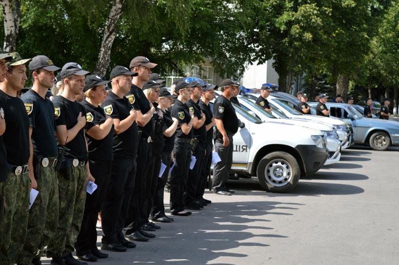 У Покровській оперативній зоні пройшов традиційний публічний інструктаж поліцейських, фото-3
