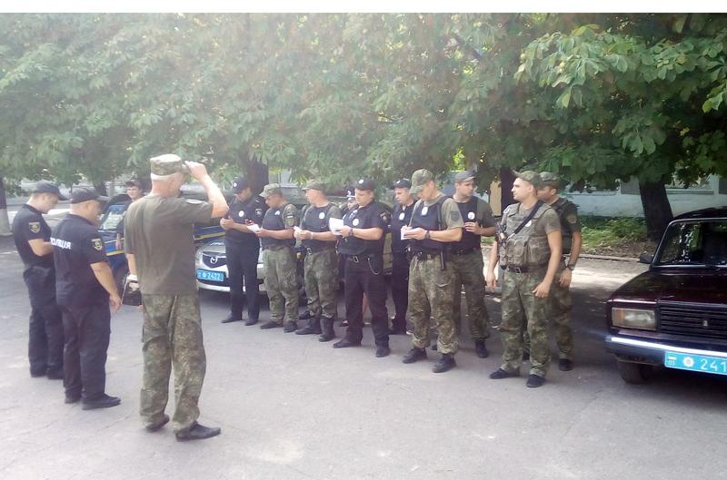 У Покровській оперативній зоні пройшов традиційний публічний інструктаж поліцейських, фото-9