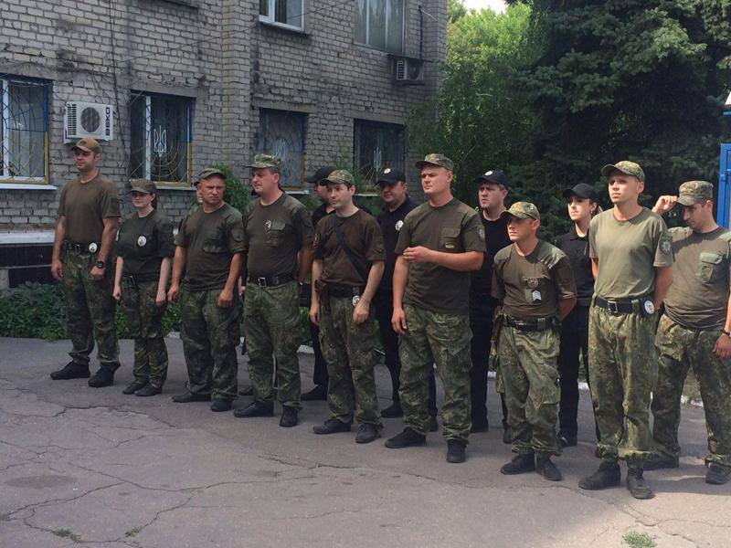 У Покровській оперативній зоні пройшов традиційний публічний інструктаж поліцейських, фото-11