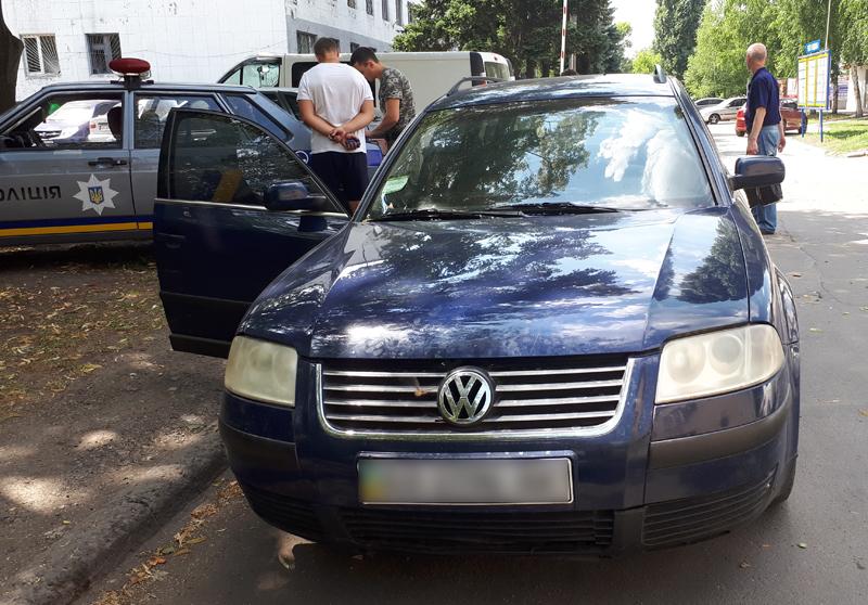 Покровские правоохранители обнаружили «автомобиль - двойник», фото-2