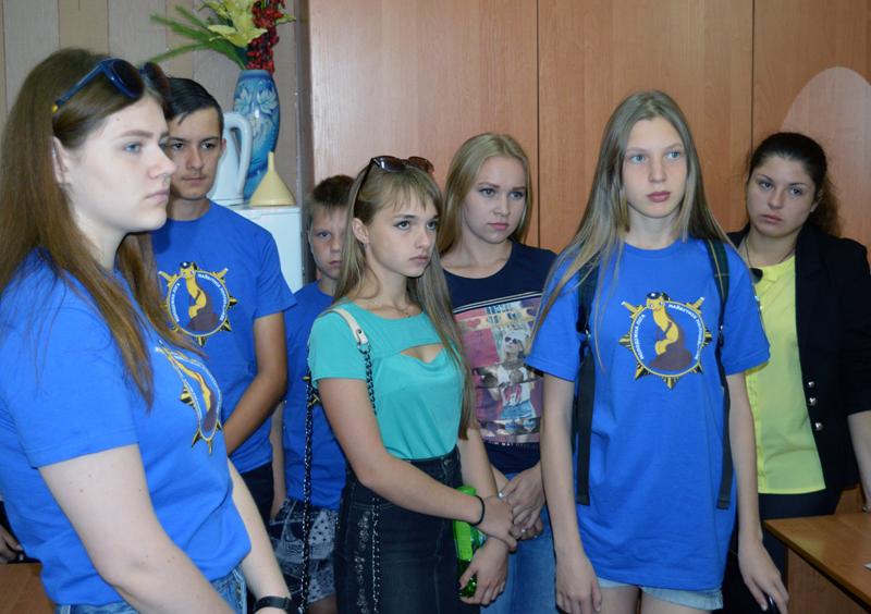 Учасники «Ліги майбутніх поліцейських» відвідали Покровський наркологічний диспансер, фото-4