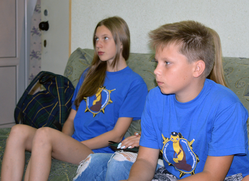 Учасники «Ліги майбутніх поліцейських» відвідали Покровський наркологічний диспансер, фото-2