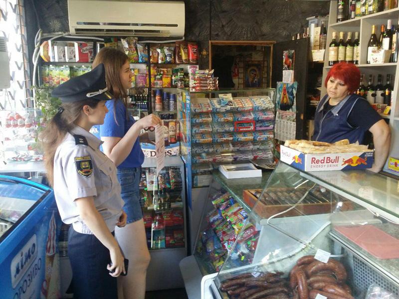 Покровские лиговцы вместе с полицейскими провели рейд против продажи алкоголя несовершеннолетним, фото-8