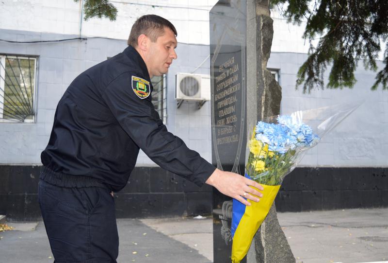 Керівник Покровської поліції зустрівся із родичами загиблих співробітників, які відділи життя заради безпеки та спокою громадян, фото-5