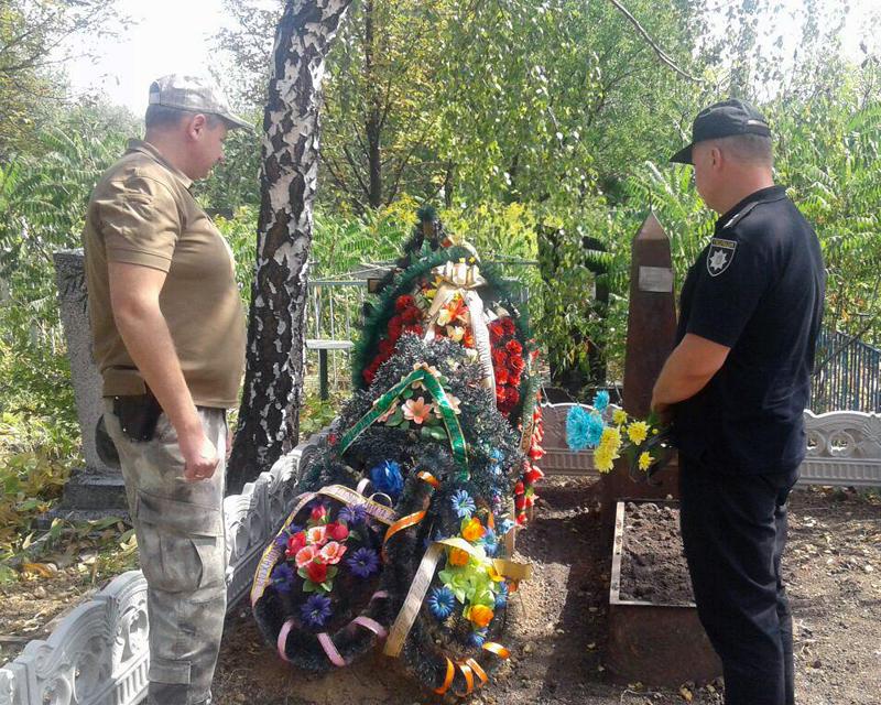 Керівник Покровської поліції зустрівся із родичами загиблих співробітників, які відділи життя заради безпеки та спокою громадян, фото-7