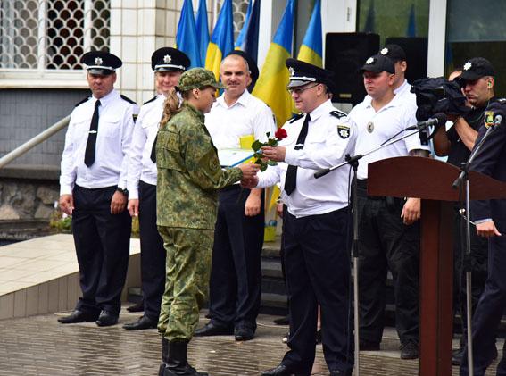 З нагоди Дня Незалежності України кращі поліцейські Донеччини отримали державні нагороди, фото-8