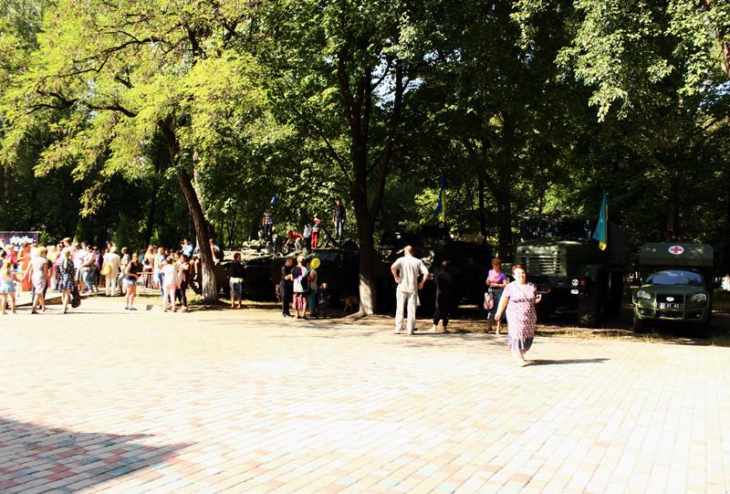 Правоохоронці Покровська забезпечують правопорядок у містах під час святкування Дня незалежності України, фото-13