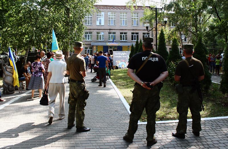 Правоохоронці Покровська забезпечують правопорядок у містах під час святкування Дня незалежності України, фото-16