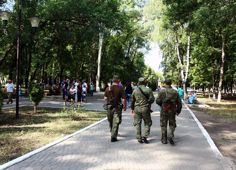 Правоохоронці Покровська забезпечують правопорядок у містах під час святкування Дня незалежності України, фото-18
