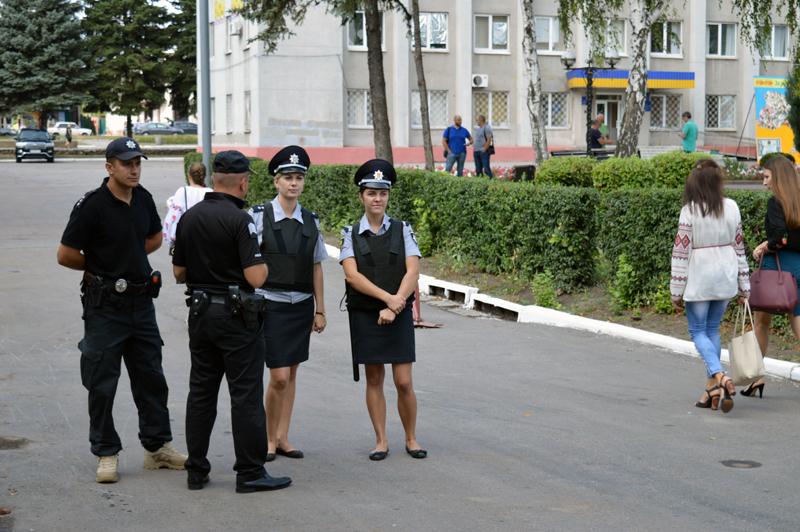 Правоохоронці Покровська забезпечують правопорядок у містах під час святкування Дня незалежності України, фото-7