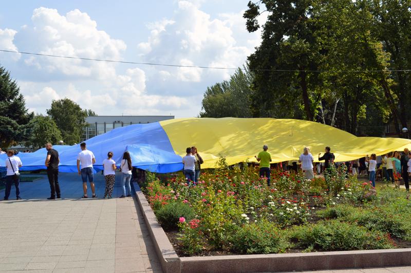 Правоохоронці Покровська забезпечують правопорядок у містах під час святкування Дня незалежності України, фото-3