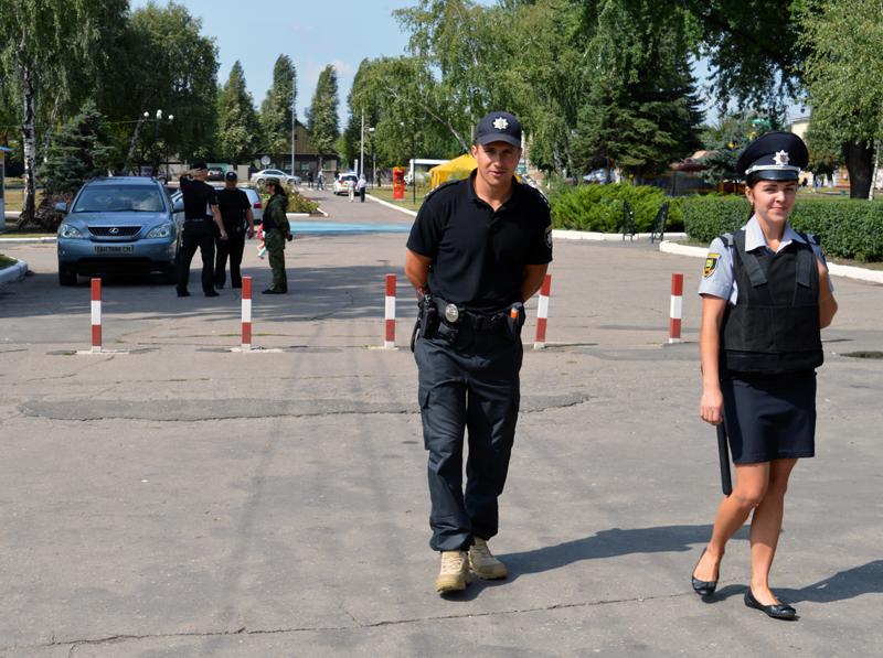Правоохоронці Покровська забезпечують правопорядок у містах під час святкування Дня незалежності України, фото-9