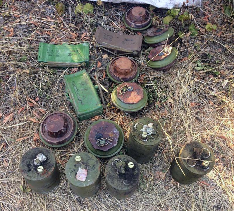 В Покровском районе полицейские обнаружили большой схрон боеприпасов и взрывчатки, фото-1