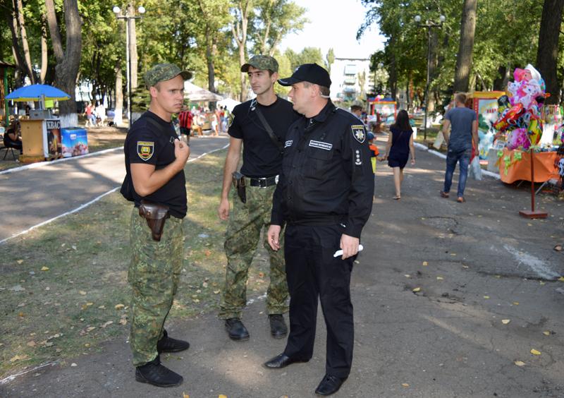 Правоохоронці Покровської оперативної зони забезпечують правопорядок під час святкування Дня міста та Дня шахтаря, фото-3