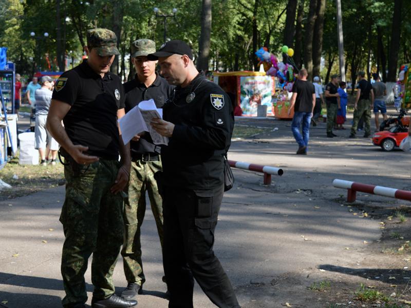 Правоохоронці Покровської оперативної зони забезпечують правопорядок під час святкування Дня міста та Дня шахтаря, фото-6