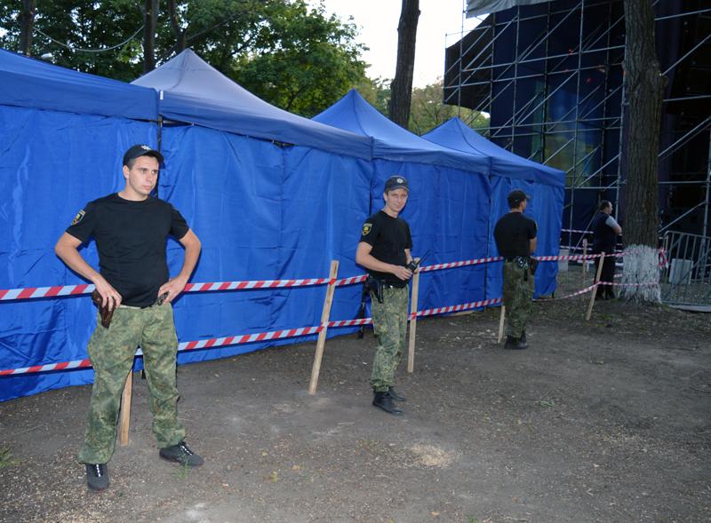Правоохоронці Покровської оперативної зони забезпечують правопорядок під час святкування Дня міста та Дня шахтаря, фото-9