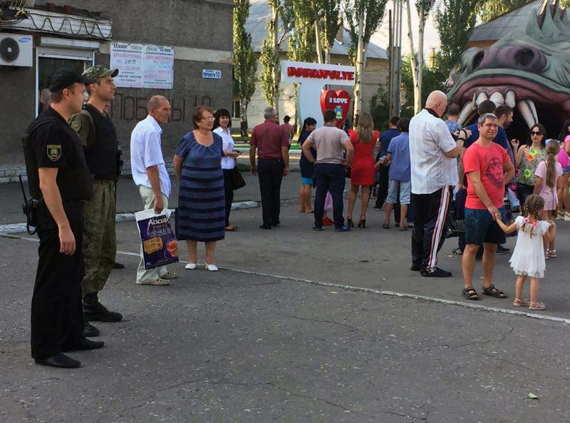 Правоохоронці Покровської оперативної зони забезпечують правопорядок під час святкування Дня міста та Дня шахтаря, фото-12