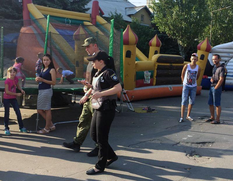 Правоохоронці Покровської оперативної зони забезпечують правопорядок під час святкування Дня міста та Дня шахтаря, фото-14