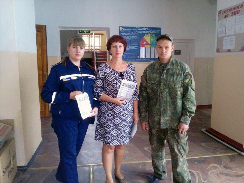 В Доброполье правоохранители проверили учебные заведения, фото-2