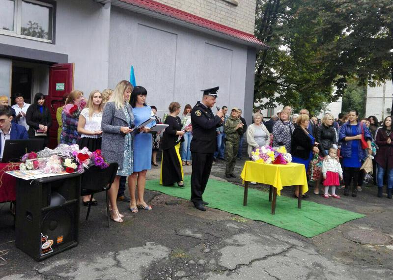 Правоохоронці Покровської оперативної зони забезпечили правопорядок під час святкування Дня знань, фото-12