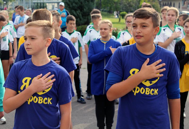 Загальноміська зарядка у Покровську пройшла під наглядом поліцейських, фото-4