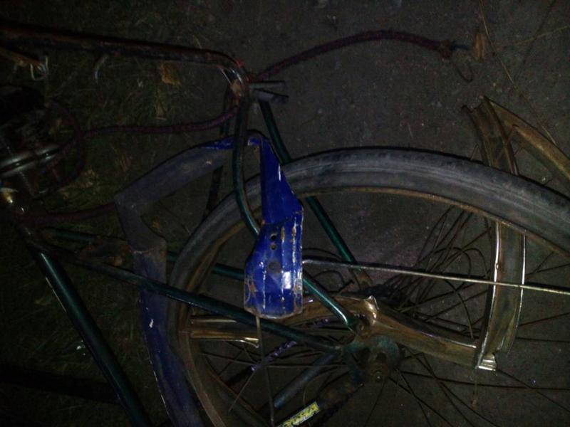 На трассе Кураховка-Горняк произошло ДТП, во время которого пострадала велосипедист, фото-1