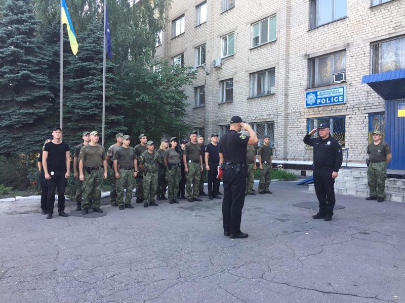 Поліцейські Покровська та Мирнограду, які охоронятимуть спокій громадян у вихідні, публічно заступили на службу, фото-9