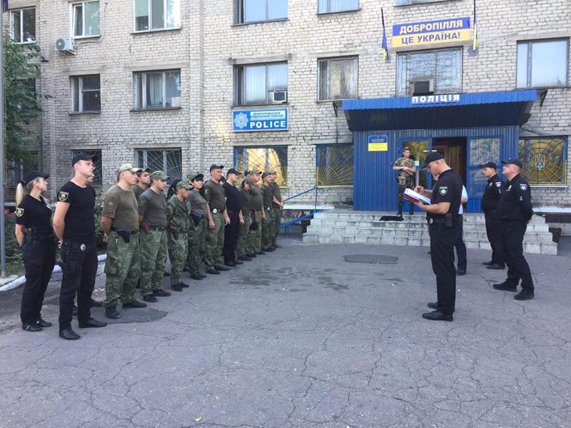 Поліцейські Покровська та Мирнограду, які охоронятимуть спокій громадян у вихідні, публічно заступили на службу, фото-10